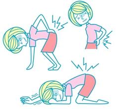 運動不足が腰痛の原因になる